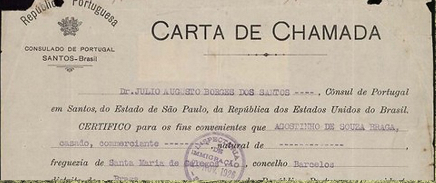 """As Cartas de Chamada"""
